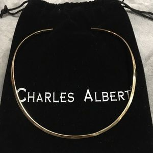 ALCHEMIA OPEN ROUND NECKWIRE from Charles Albert